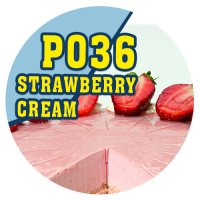 P036 - 10ml Aroma Pur Strawberry Cream