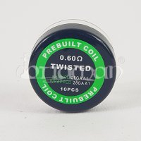 Twisted Coil Prebuilt 10 Stk. - 0,60Ohm