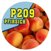 P209 - 90ml Magic Liquid Pfirsich