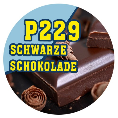 P229 - 90ml Magic Liquid Schwarze Schokolade