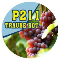 P211 - 90ml Magic Liquid Traube Rot