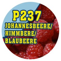 P237 - 90ml Magic Liquid Johannesbeere / Himmbeere /...