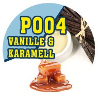 P004 - 90ml Magic Liquid Vanille & Karamell