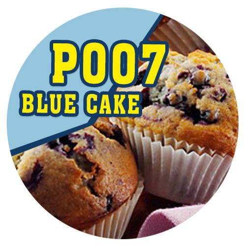 P007 - 90ml Magic Liquid Blue Cake