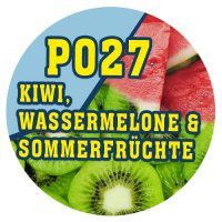 P027 - 90ml Magic Liquid Kiwi, Wassermelone & Sommerfrüchte