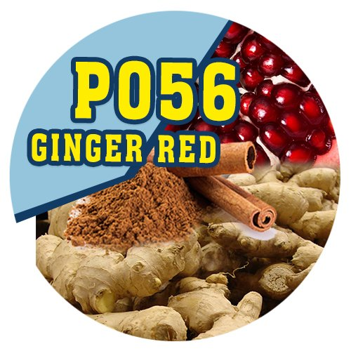P056 - 90ml Magic Liquid Ginger Red