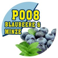 P008 - 90ml Magic Liquid Blaubeere & Minze