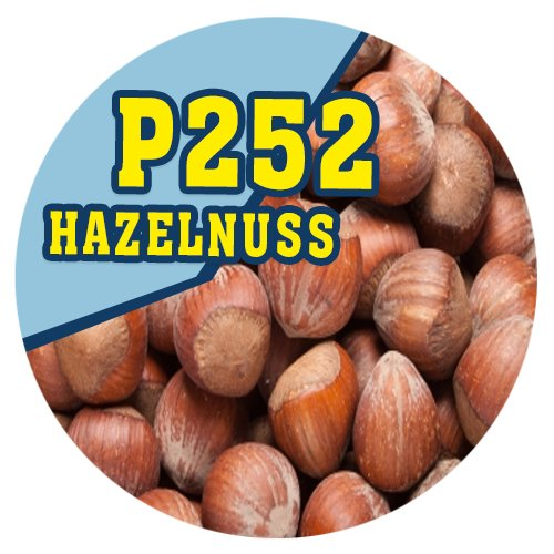 P252 - 90ml Magic Liquid Haselnuss