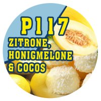 P117 - 90ml Magic Liquid Zitrone, Honigmelone, Cocos