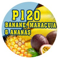 P120 | 90ml Magic Liquid Banane, Maracuja & Ananas