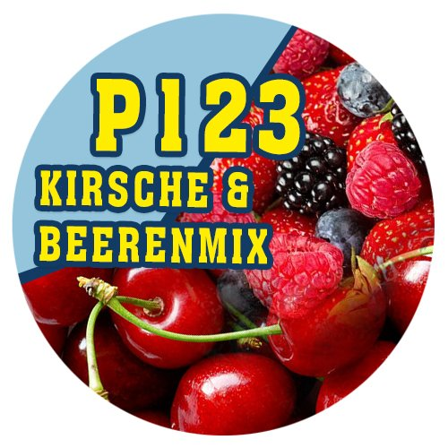 P123 - 90ml Magic Liquid Kirsche & Beerenmix
