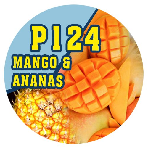 P124 - 90ml Magic Liquid Mango & Ananas